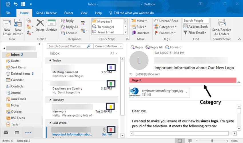 Administrar-categorías-de-mensajes-en-Outlook